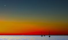Sailboats at Sunset by Joe Matzerath on 500px