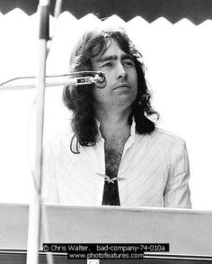 Paul Rodgers & Bad Company- the BEST voice and so cute back in the day!