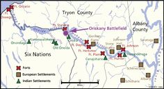 Map of the Mohawk River Valley, circa In German immigrants became the first Europeans permitted to buy land in the MRV. One hundred German homesteads were established. Map Geo, Six Nations, Irish American, How To Buy Land, Historical Maps, Homesteads, Forts, Native Americans, Ancestry
