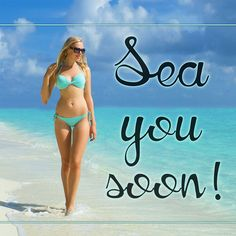 Sea You Soon- You may be thinking about your last Outer Banks beach vacation or planning your next one, but either way we'll help you get into an OBX state of mind with these beach quotes and sayings. They're some of our favorites, so expect to be inspired to head toward the sun, sand and sea. We'll see you there!