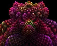 Imágenes de fractales en 3D
