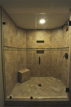 Huge walk in shower done by Royal Palm closet design & fine cabinetry. 239-768-2391