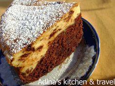 Adina's kitchen & travel: Prajitura cu crema de branza si ciocolata ( rapid de preparat) Gordon Ramsay, Something Sweet, Banana Bread, French Toast, Sweets, Paste, Breakfast, Desserts, Food