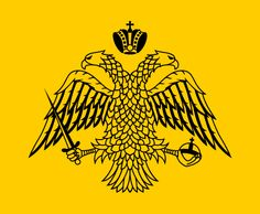 Flag used by the Orthodox Church in Greece, and the standard of the self-governed monastic state of Mount Athos.