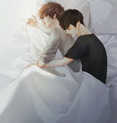 Levi x eren Manga Anime, Fanarts Anime, Manga Boy, Anime Characters, Cute Gay Couples, Anime Couples, Anime Love, Hot Anime Guys, Levi X Eren