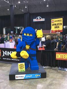 Blue Ninjago Ninja