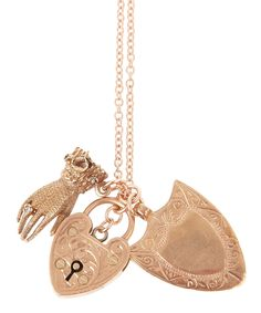 Love and Protection Long Charm Necklace, Annina Vogel.