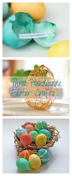 Three Handmade Easter Crafts | {Home-ology} modern vintage