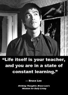 Bruce Lee wisdom ~