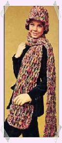 Cloche & Scarf | Groovy Crochet