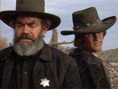 Jack Elam y Kris Kristofferson Jack Elam, Pat Garrett, Sam Peckinpah, Gangster Movies, Danny Trejo, Kris Kristofferson, Real Cowboys, Billy The Kids, Best Director