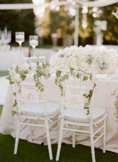 Anote estas ideias de decoracão de cadeiras para casamentos 2016 Image: 4