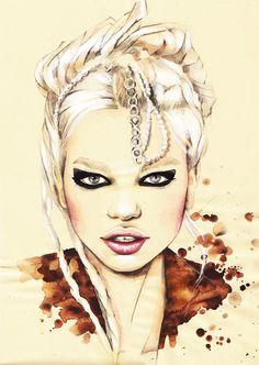 Female Portrait Painting…