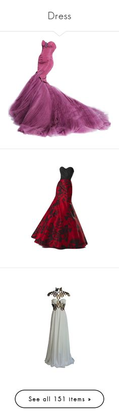 """Dress"" by kokoxpops ❤ liked on Polyvore featuring dresses, gowns, long dresses, vestidos, zac posen, zac posen gowns, zac posen evening dresses, zac posen ball gown, red evening dresses and long red dress"