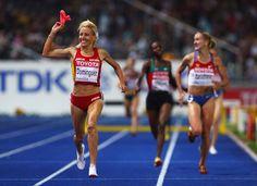 Marta Dominguez Photos: 12th IAAF World Athletics Championships - Day Three
