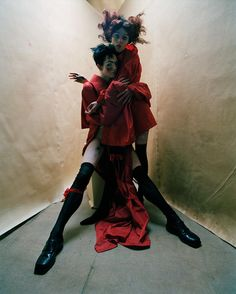 Dream your paintings, paint your dreams! Taken from i-D's Creativity Issue, lose yourself in the whimsical magic and curious imagination of photographer Tim Walker, stylist Jacob K, and the works of artist Egon Schiele.