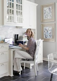 Home Office Idea Andrea Brooks Interiors