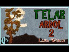 Tutorial TELAR ÁRBOL Decorativo 1 Paso a Paso Tapiz Wall Hanging TREE. Wandteppich BAUM. Lana Wolle - YouTube 3d Tree, Weaving Patterns, Beading Projects, Loom Weaving, Tree Wall, Tapestry, Youtube, Macrame, 3d Wall
