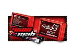 Quality Venom LiPo and NiMH Batteries for your RC Cars, Truck, Buggies, Boats, and other surface vehicles. Venom Power - Power your passion. Rc Batteries, Rc Cars, Uni, Surface