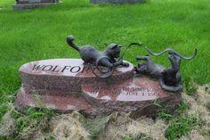 Cave Hill Cemetery, Louisville, Kentucky #UnusualGravestones