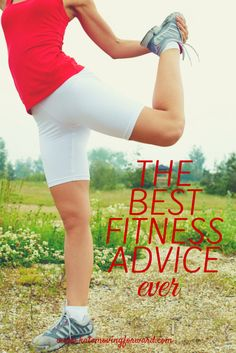 This one piece of fitness advice shifted my perspective and helped me lose weight and get healthy for good. Don't waste another day with crash diets or fads...get this REAL advice and get busy!