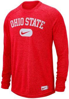 3cb769a5c1 Nike Men s Ohio State Buckeyes Modern Tee Nike Ohio State
