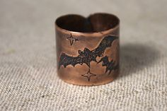 Halloween ring Jolly and a bit of spooky by AnnTitovaDesign