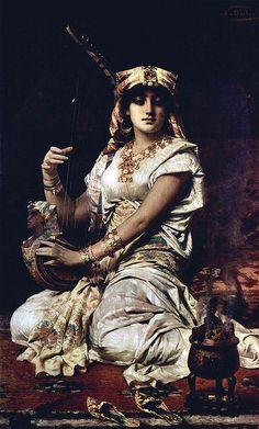 Nathaniel Sichel 1843-1907 German Artist