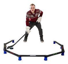 Hockey Revolution Stickhandling Training Aid Equipment for Puck Control  React... Hockey Puck c9685060522a