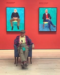 Legendary artist David Hockney