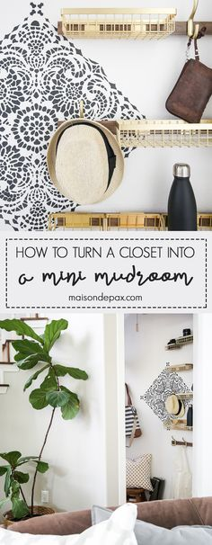 How to turn closet i