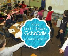Have you tried GoNoodle? This new site has quickly become a classroom favorite. It has truly energized our day, and we couldn't imagine our class without it!