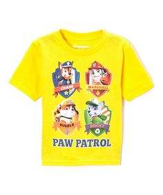 Loving this Yellow 'Paw Patrol' Tee - Toddler on #zulily! #zulilyfinds 9