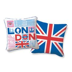 London Calling Pillow  By Supon Phornirunlit