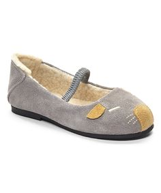 Look what I found on #zulily! L'Amour Shoes Gray Mouse Flat by L'Amour Shoes #zulilyfinds