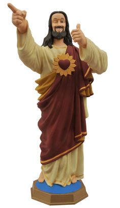 "Увеличить ""Копилка Дружище Христос — Diamond Select Dogma Bust Bank Buddy Christ"""