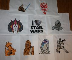 star wars machine quilting designs