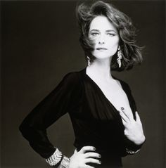Charlotte Rampling, Paris, 1985 © Bettina Rheims