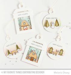 Winter Wonderland, Tag Builder Blueprints 4 Die-namics, Winter Wonderland Die-namics - Melania Deasy  #mftstamps