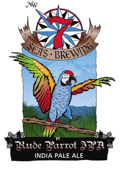 7 Seas Brewing - Craft Brewery in Gig Harbor Washington - Our Brews - Rude Parrot IPA