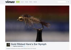 Spring fishing in turbulent water means bushier flies and modified techniques. The Hare's Ear is a seductive trout fly; check it out!
