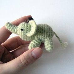 Percy The Elephant Amigurumi Pattern