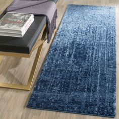Retro Collection RET2770-6065 Color: Light Blue / Blue - #safavieh #safaviehrugs #safaviehrunners #rugrunners #rugs #hallwayrugs #entrywayrugs #staircaserugs #staircasecarpets #entrywaycarpts #bedroomrugs #livingroomrugs #diningroomrugs #kitchenrugs #hallwaydecor #entrywaydecor #shoprugs #runnercarpets #bluerunnerrug #tauperunnerrug