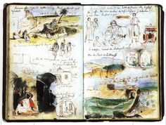 delacroix´s sketchbook