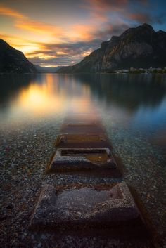 Ponderation — ponderation:  Sunset on the Lake by dspadazzi