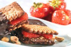 """Ατομικά Sandwich με """"ΠΤΙ-ΜΠΕΡ"""" ΠΑΠΑΔΟΠΟΥΛΟΥ με Σοκολάτα"""