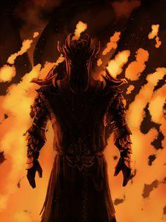 Skyrim,The Elder Scrolls,фэндомы,TES art,Мирак,TES Персонажи,Dragonborn DLC