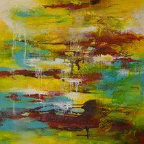 Acrylbild, Abstrakt, Galerie 3 - Atelier - Malschule Mesch Osnabrück