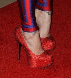 Kat von D glitter heels
