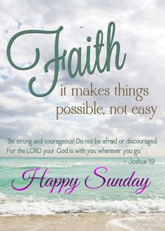 happy sunday quotes and pictures | He is all I need, He is always there, He is my everything, He is GOD.